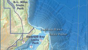 Lake Tahoe Water Trail Map Guide