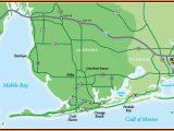 Map Of Gulf Shores Alabama