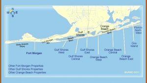 Map Of Gulf Shores Alabama And Florida