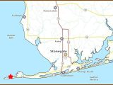 Map Of Gulf Shores Area