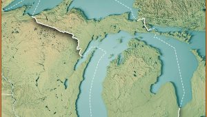 Michigan Topographic Map