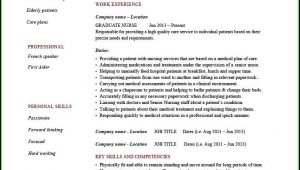 Microsoft Word Registered Nurse Resume Template