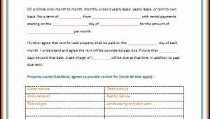 Microsoft Word Rental Template