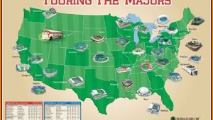Mlb Ballpark Map