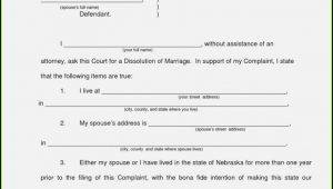 New Jersey Divorce Filing Instructions