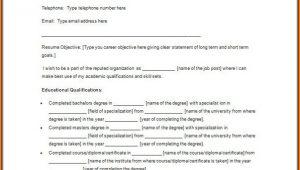 Nursing Student Resume Template Word