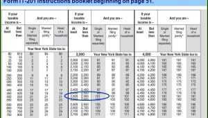 Ny State Tax Extension Form It 201