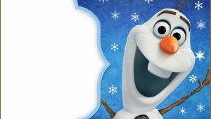 Olaf Birthday Invitation Template