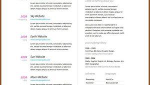 Online Resume Builder Free Template