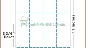 Perforated Paper Templates