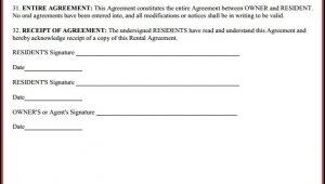 Printable Car Rental Agreement Form