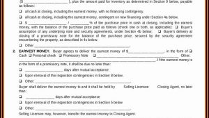 Real Estate Buy Sell Agreement Form Michigan