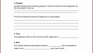 Rental Lease Template Free