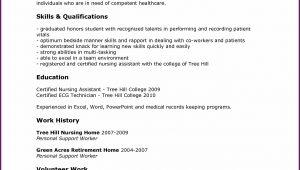 Resume Cna Job Duties