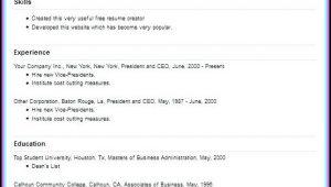 Resume Creating Websites