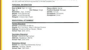 Resume For Dummies Pdf Free Download