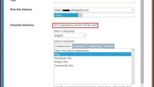 Sharepoint 2013 Template Site Collection