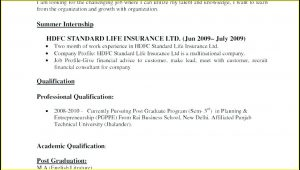 Standard Resume Format For Freshers Free Download Doc