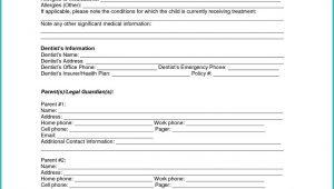 Temporary Guardianship Form For Grandparents