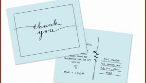 Thank You Postcard Template Free