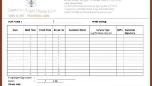 Timesheets Templates For Employees