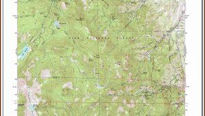 Topographic Maps Colorado Springs