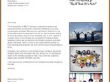 Total Compensation Statement Cover Letter