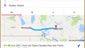 Trans Canadian Railway Map