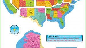 United States Map Bulletin Board