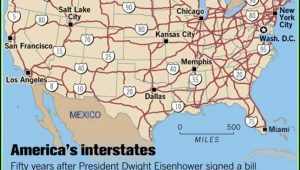 Us Map With Interstate