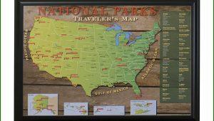 Us Travel Map Push Pins