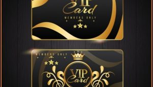 Vip Card Design Template