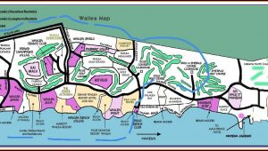 Wailea Beach Hotels Map