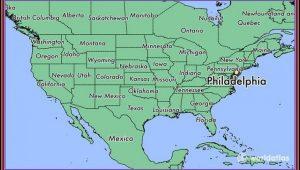 Walking Map Of Historic Philadelphia