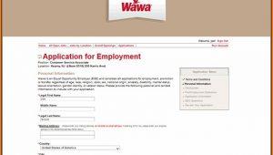 Wawa Job Application Online