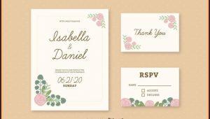 Wedding Card Invitations Template