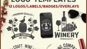 Wine Sticker Templates
