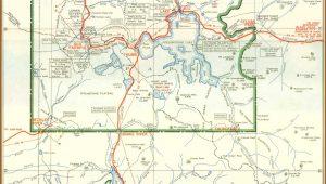 Yellowstone And Grand Teton Map