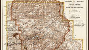 Yosemite National Park Boundaries Map