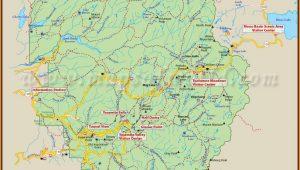 Yosemite National Park Map Location